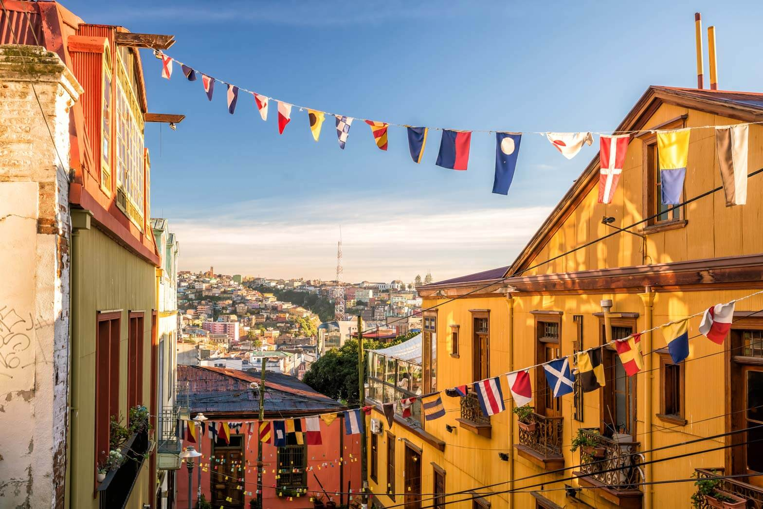 UNESCO World Heritage city of Valparaiso, Chile
