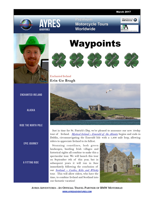 Waypoints March 2017