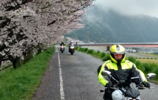 Day 4 of Japan Cherry Blossoms Motorcycle Tour in Japan