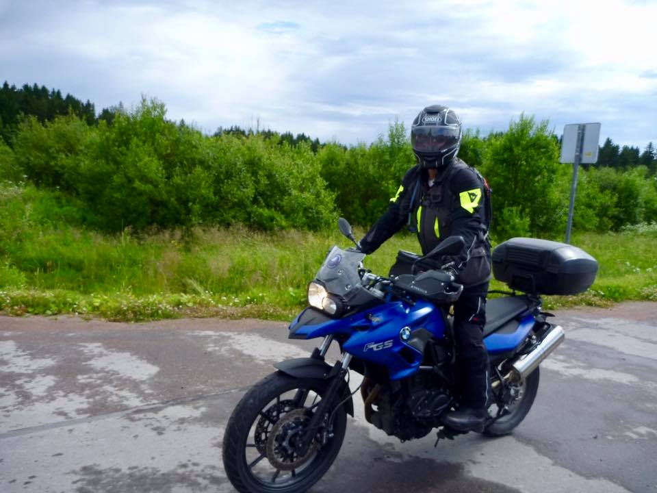 North Pole Adventure 2017, Motorcycle Tour in Russia, Day 5, Republic of Karelia, Russia