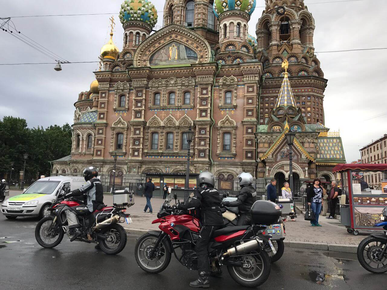 North Pole Adventure 2017, Motorcycle Tour in Russia, Day 5, Russia