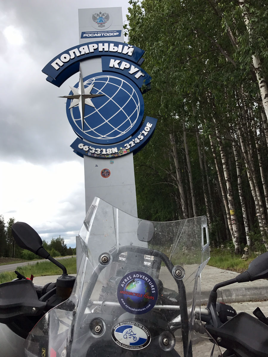 North Pole Adventure 2017, Motorcycle Tour in Russia, Day 6, Russia