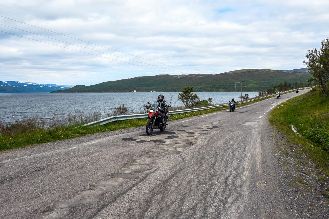 North Pole Adventure 2017, Motorcycle Tour in Russia, Day 22, Kirkenes to Lakselv, Norway
