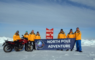 North Pole Cruise, North Pole Adventure Motorcycle Tour in Russia, Norway, Ayres Adventures