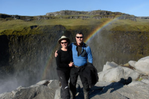 Jan Stone, Alden Hingle, Motorcycle Tour in Iceland, Testimonial, Ayres Adventures