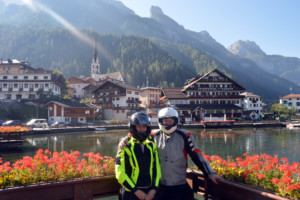 Joe and Mary Penney, Testimonial, Motorcycle tour Dramatic Dolomites in the Alps, Italy and Switzerland