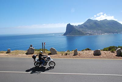 Cape Town to Victoria Falls Motorcycle Tour in Africa, Day 2