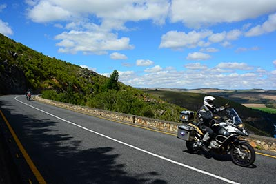 Cape Town to Victoria Falls Motorcycle Tour in Africa, Day 3