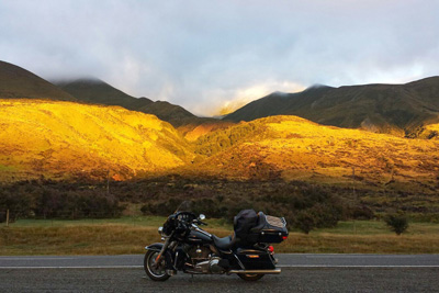 Top Down Adventure, Motorcycle Tour in New Zealand, Day 14