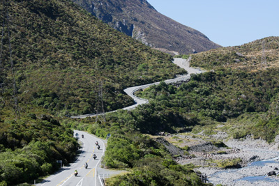 Top Down Adventure, Motorcycle Tour in New Zealand, Day 17