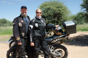 Jean & John Woynicki, Call of the Wild Motorcycle Tour in Africa Testimonial, Ayres Adventures