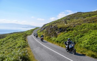 Motorcycle Tour in Ireland 2018 by Ayres Adventures