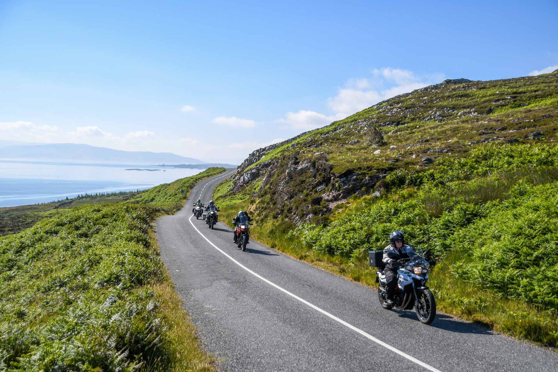Motorcycle Tour in Ireland 2018 by Ayres Adventures, Day 4 - Derry to Donegal