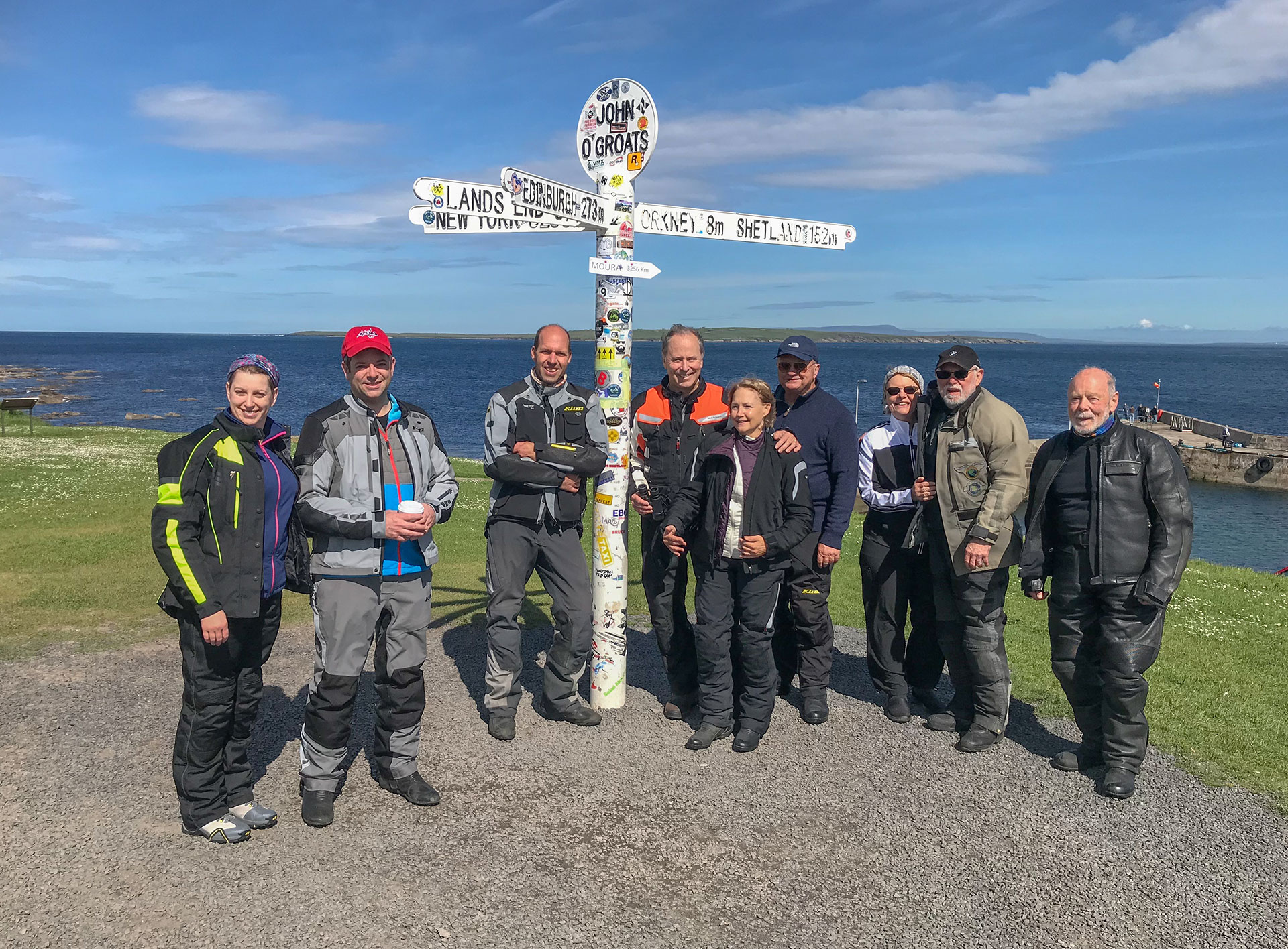 Scotland Motorcycle Tour, Day 8 - Thurso to Inverness