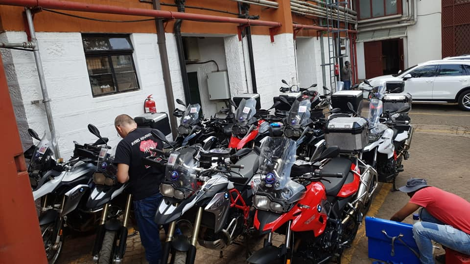 Motorcycle Tour in Africa 2018 by Ayres Adventures, Day 1 - Arriving in Nairobi
