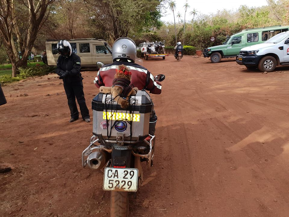 Motorcycle Tour in Africa 2018 by Ayres Adventures, Day 11 - Second free day in Serengeti