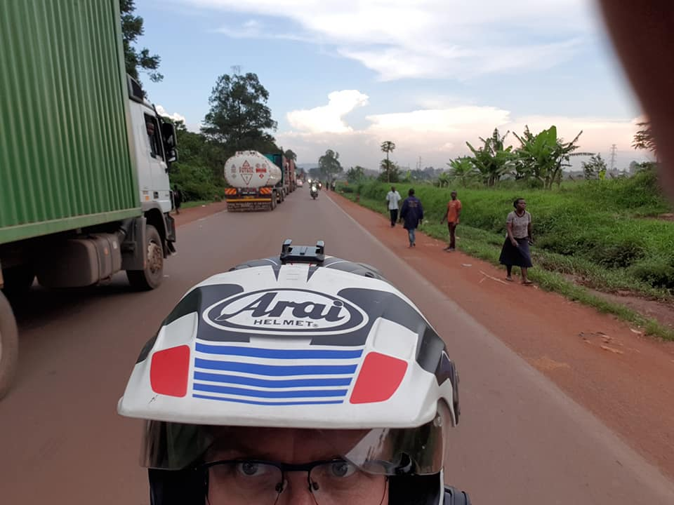 Motorcycle Tour in Africa 2018 by Ayres Adventures, Day 3 - Kisumu to Kampala