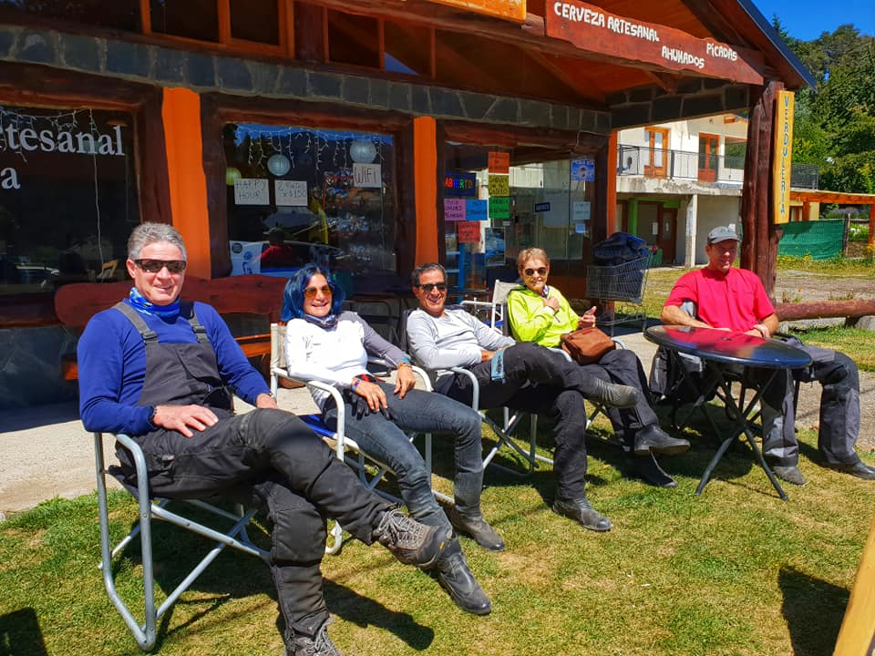 Bariloche to Ushuaia Motorcycle Tour in South America 2018