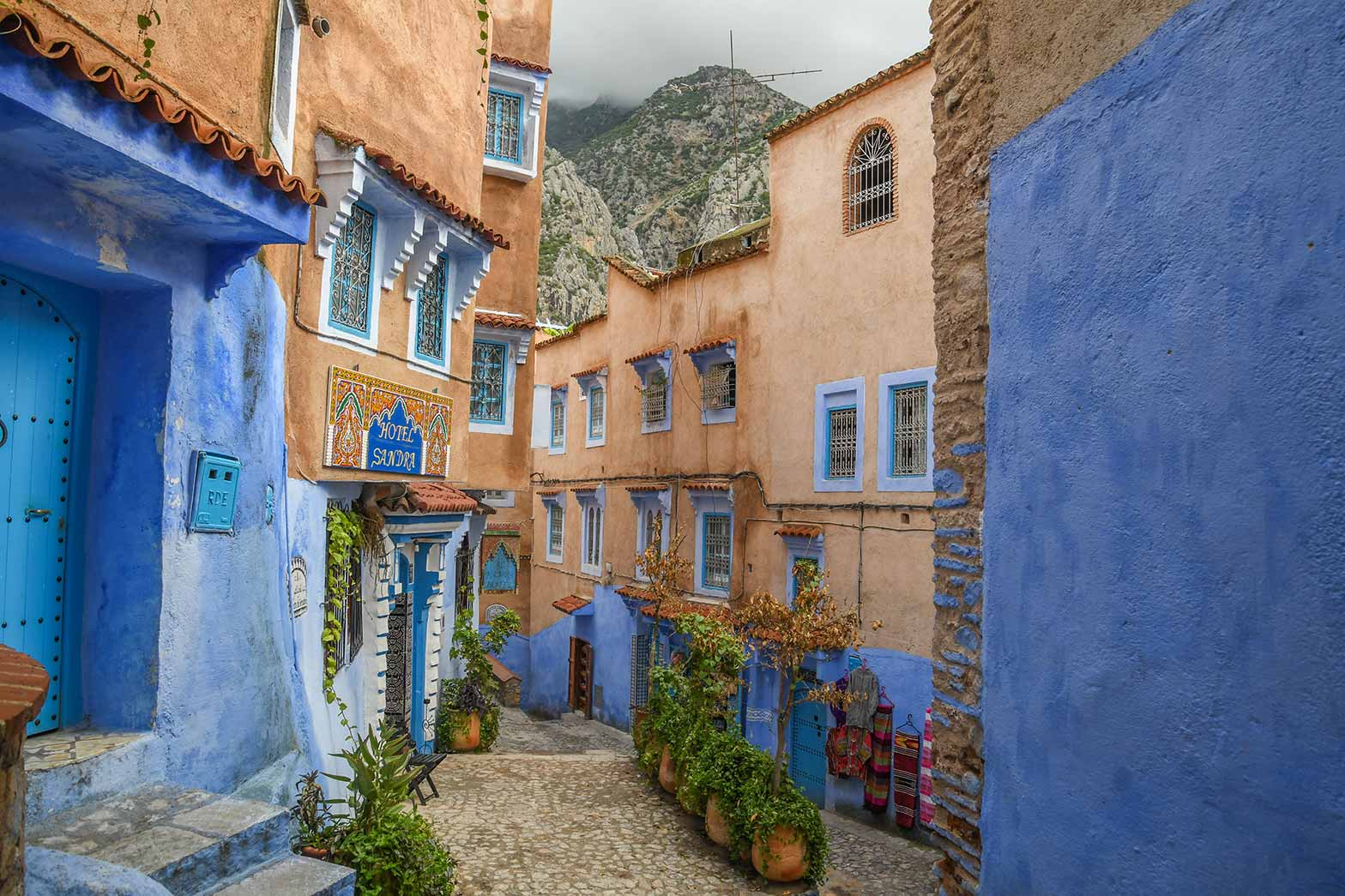 Backstreets of Chefchaouen