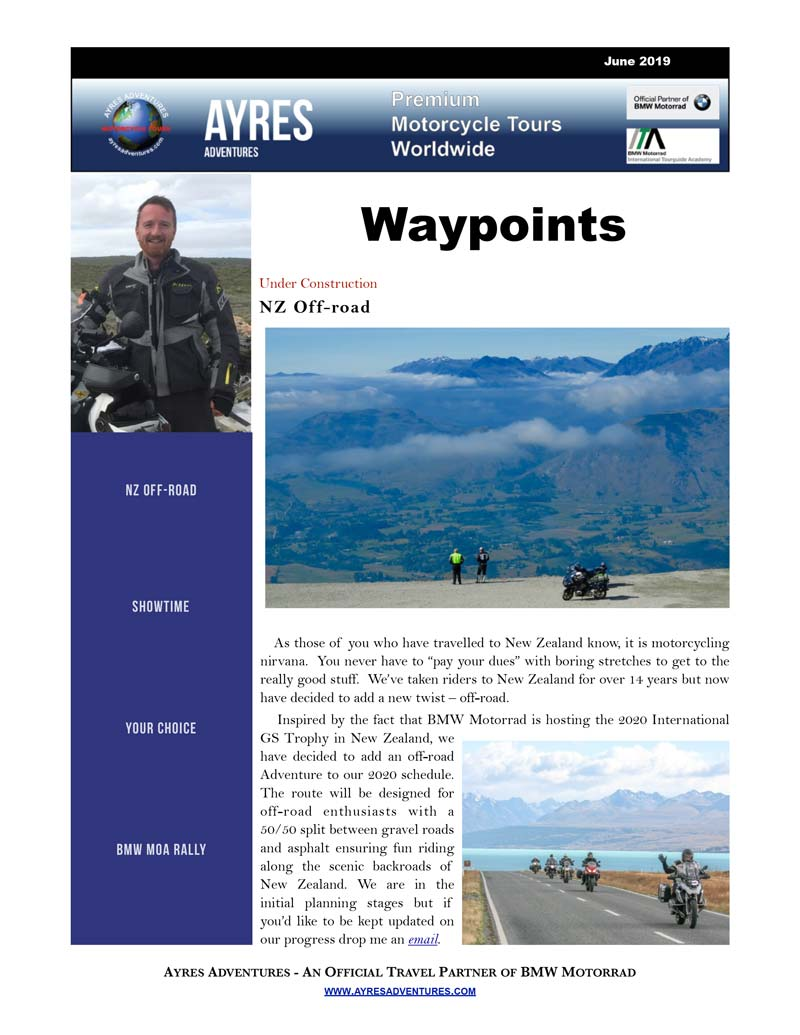 Waypoints July 2019