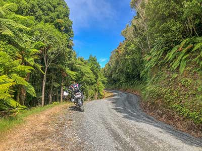 New Zealand Off-Road Motorcycle Tour, Day 4