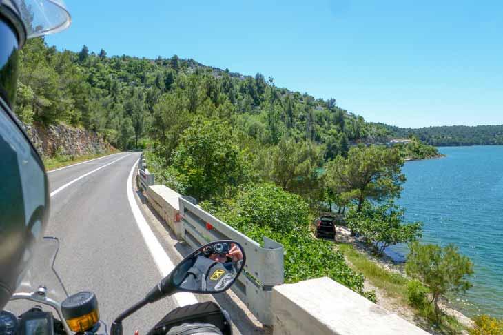 Croatian-coast-road-II