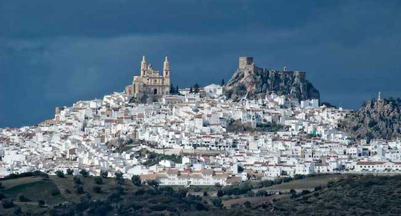 Olvera - in Andalusia, Spain