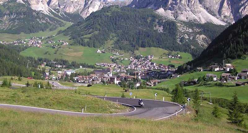 Corvara - in the Italian Dolomites