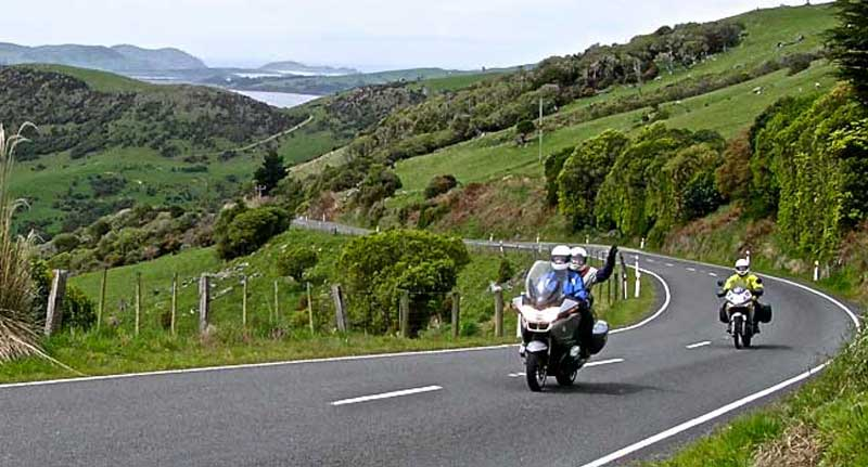 New Zealand Country Road