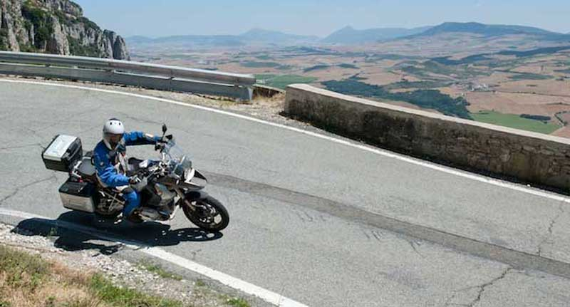 Doing the Pyrenees on a new GS!