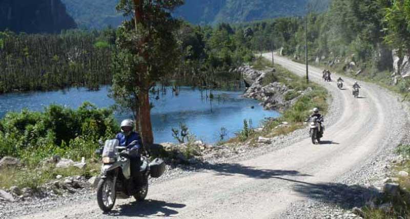 Lake Scene - Taste of Chile Adventure
