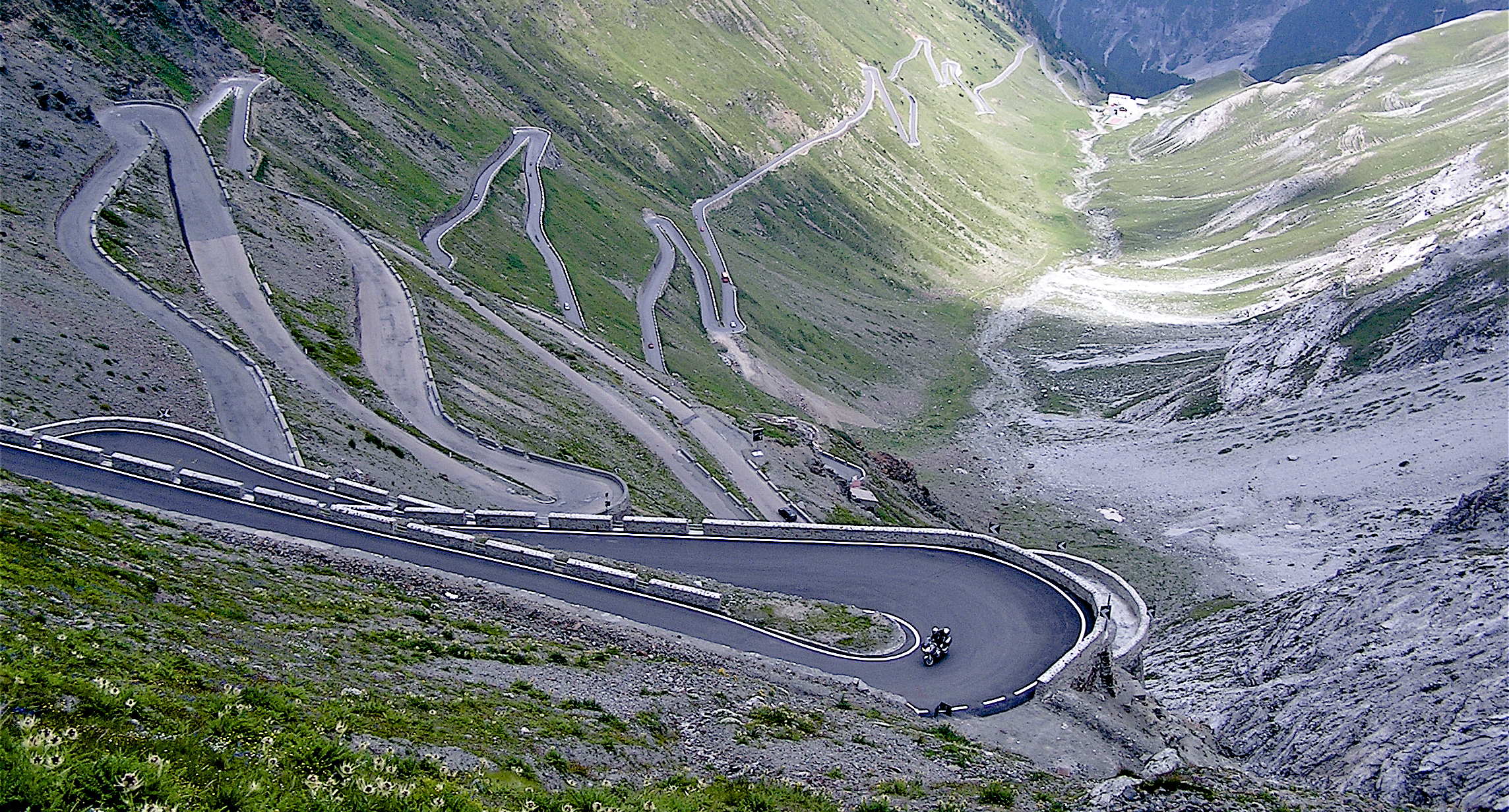The Mighty Stelvio Pass the Alps