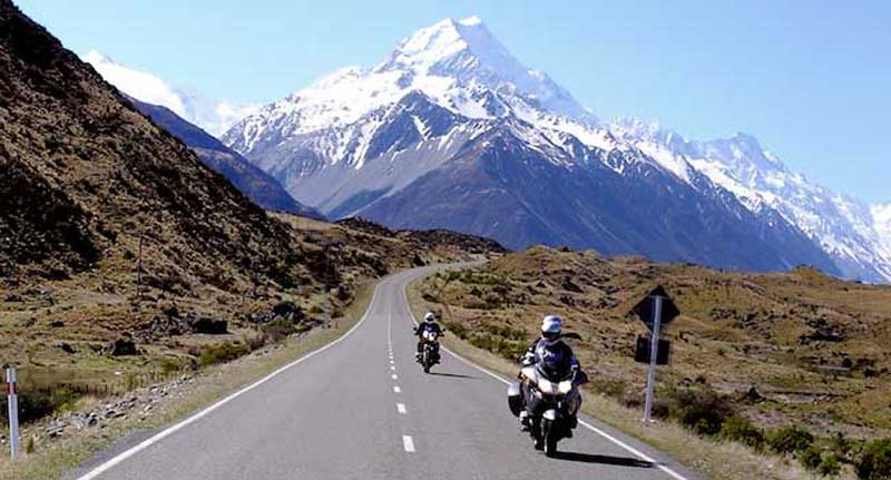 Leaving Mt. Cook