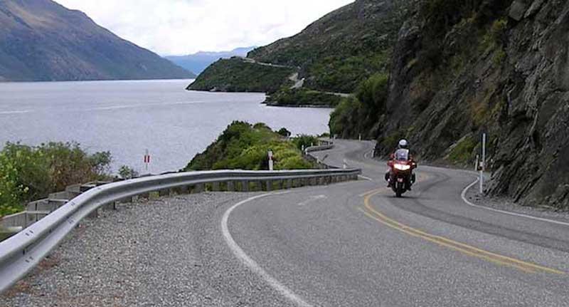 New Zealand Lake Ride