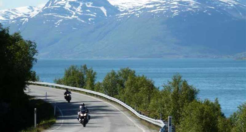 Norway - the Lyngen Alps in the Background