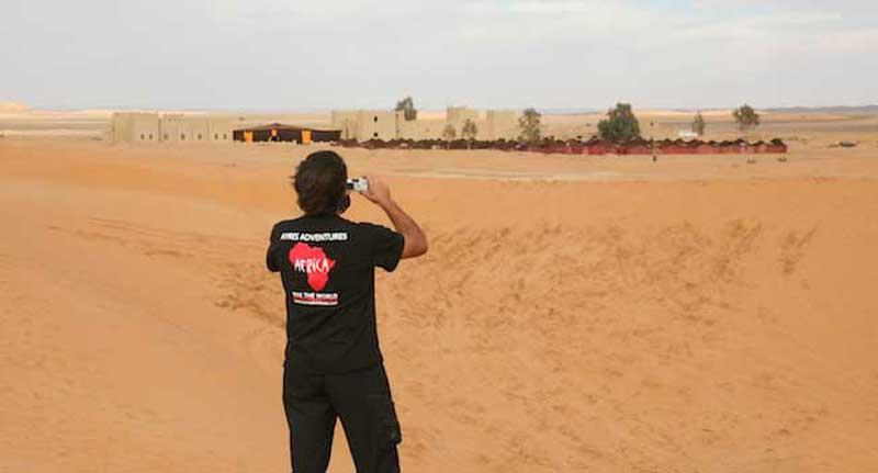 Our Bivouc in the Sahara Morocco Adventure