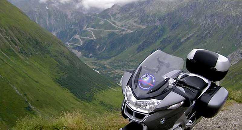 Riding the Alpine Passes on an RT