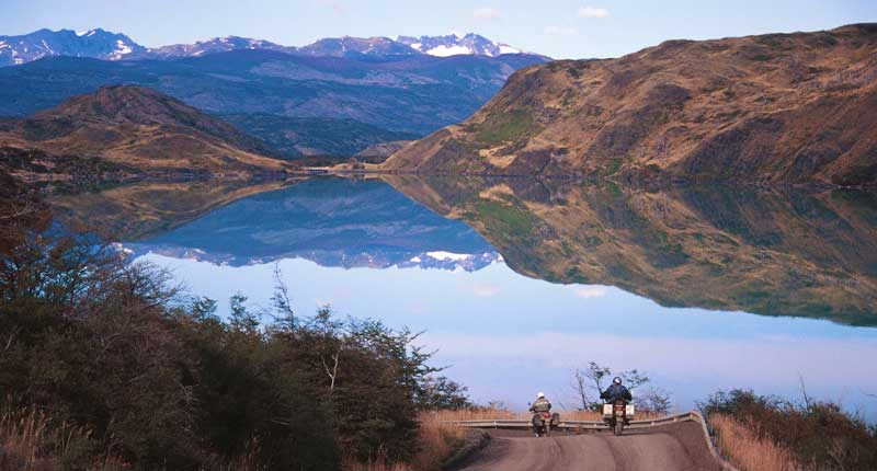 South America - Riding Lago Pehoe in Torres del Paine