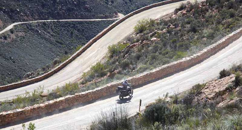 Riding the Swartberg Pass