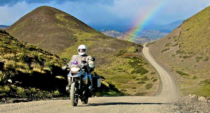 Torres del Paine - Rainbow