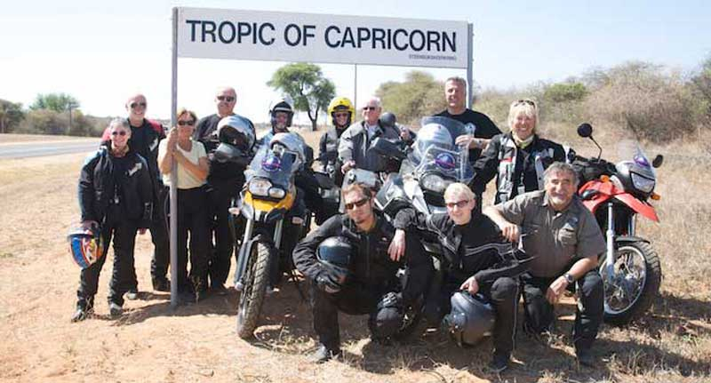 Tropic of Capricorn - South Africa
